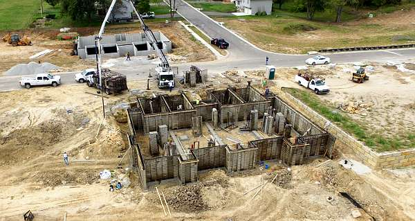Alabama Concrete Foundations
