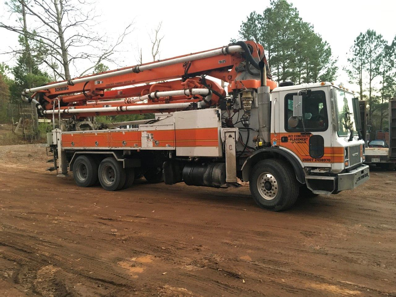 Alabama Concrete Pumping