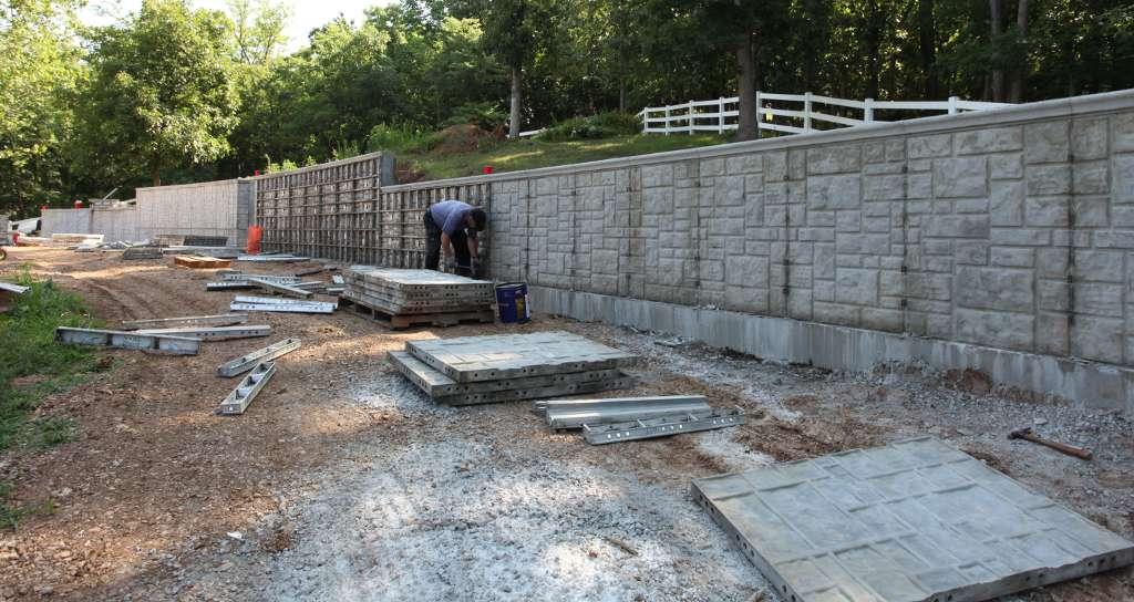 Auburn Alabama Retaining Walls